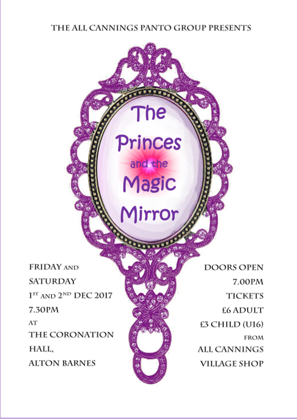 Princes and magic mirror poster 5